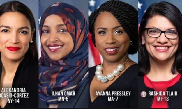 President Trump vs The Squad of Four
