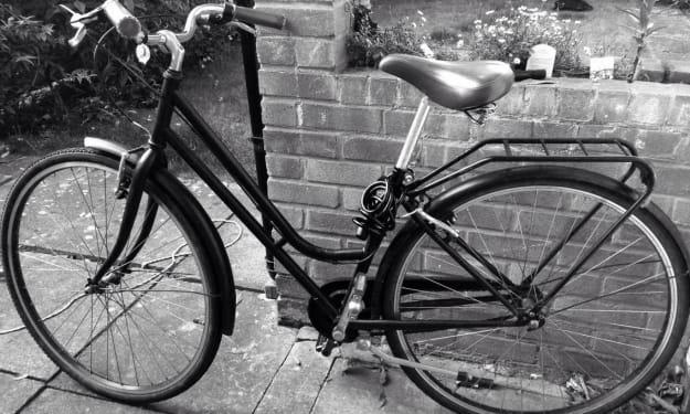 'Sorry I'm Late, My Bike Broke Down...'