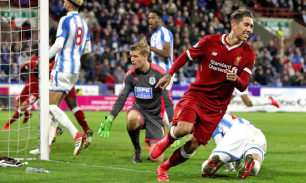 Huddersfield 0-3 Liverpool: Stats Review