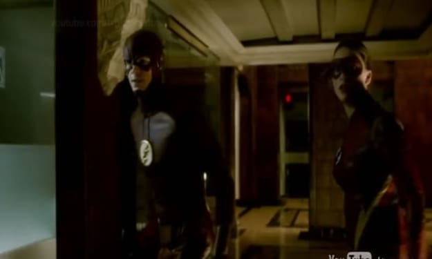 Violet Beane Suits up as Jesse Quick for the Flash Episode Four
