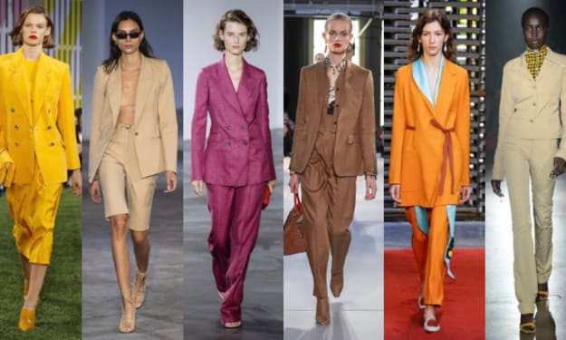 Spring 2019: Suits On the Ready-to-Wear Runway
