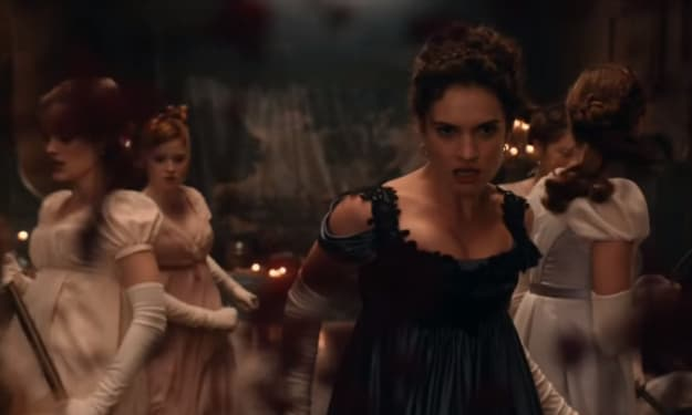 'Pride and Prejudice and Zombies' Gives a Beautiful Classic a Horror Edge in its First Trailer