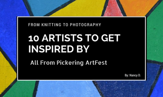 10 Artists to Get Inspired By