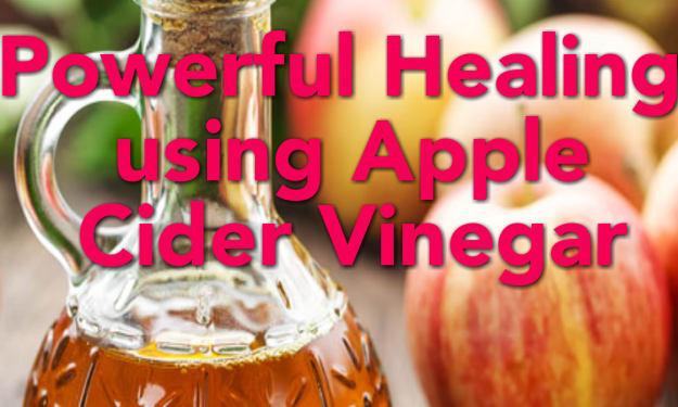 Powerful Healing Benefits of Apple Cider Vinegar