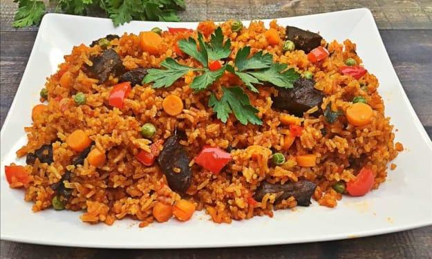 Our Very Own Ghanaian Jollof