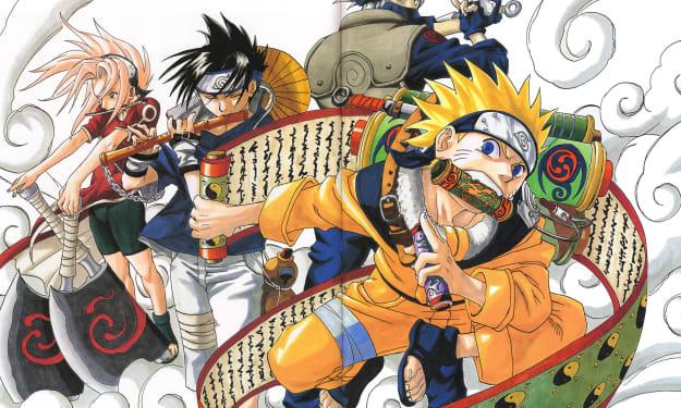 Reading Manga - Naruto Volume 1