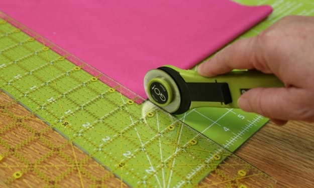 How to Cut With the Rotary Cutter?