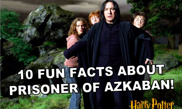 10 Fun Facts About 'Harry Potter and the Prisoner of Azkaban'!