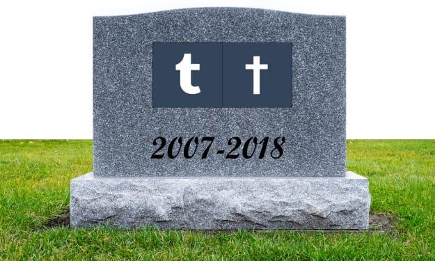 Tumblr Will Die
