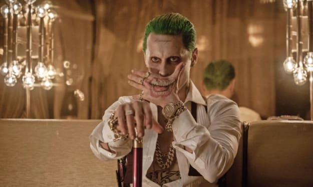 Early Concept Art Of Jared Leto In 'Suicide Squad' Shows The Joker As Less Gangster And More Showman