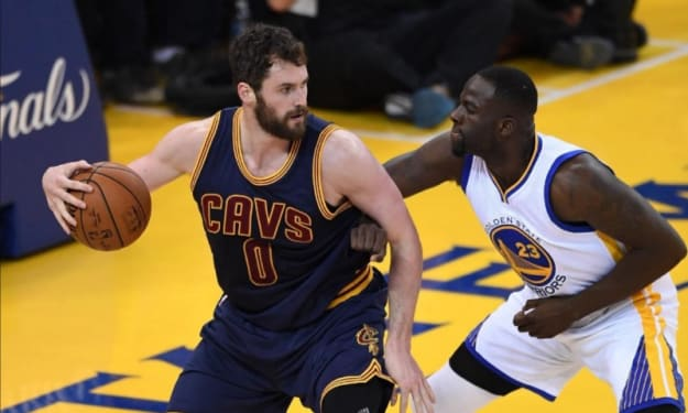 How The Most Important NBA Finals Matchup Lies Between Kevin Love and Draymond Green