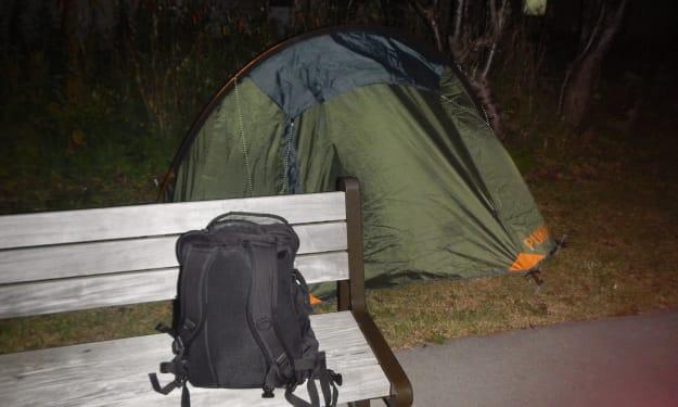 Campsite #8: Return to Wakkanai