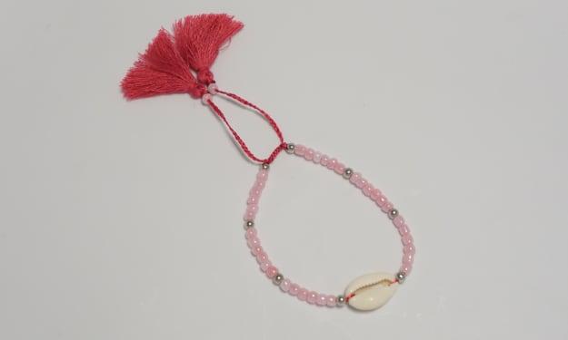 DIY Seed Bead Adjustable Bracelet
