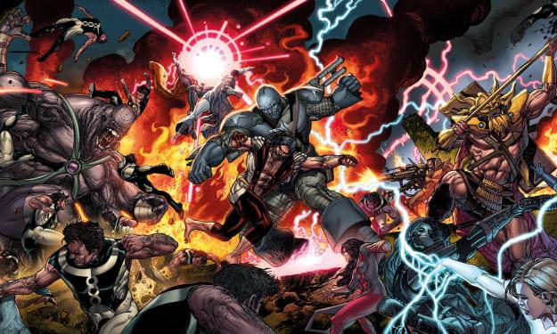 Marvel Supervillains Alphabet
