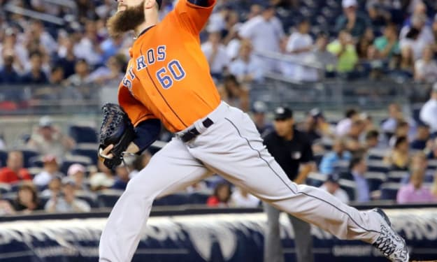 Dr. Dallas and Mr. Keuchel—The Two Faces of the Astros Ace