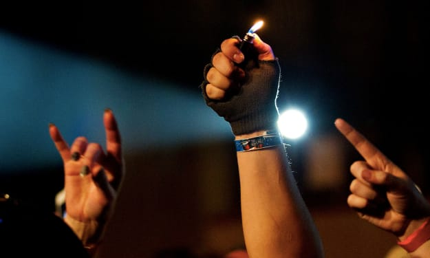 History of the Lighter at Concerts