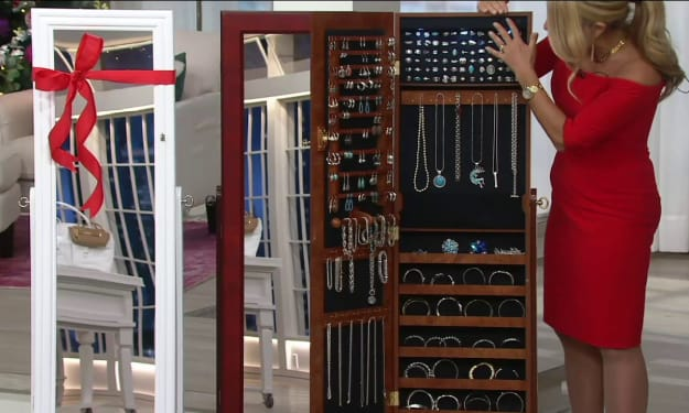 How to Pick a Jewelry Armoire to Secure All Kinds of Ornaments