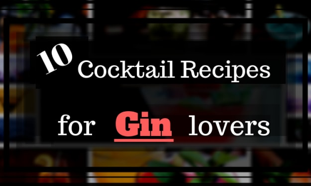 10 Cocktail Recipes for Gin Lovers