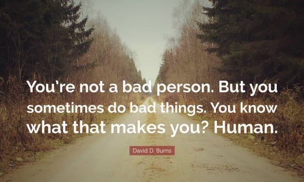 One Bad Deed Doesn't Define a Person