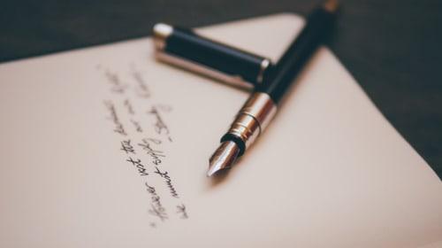 What Led Me to Write