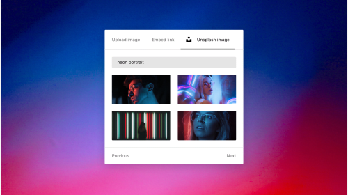 Introducing Unsplash Photos on Vocal