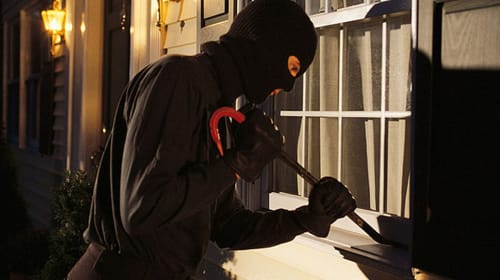 Burglaries...