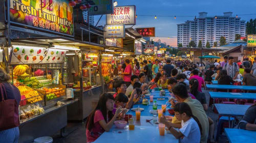 From Life to Plate: A Story from Georgetown Street Food