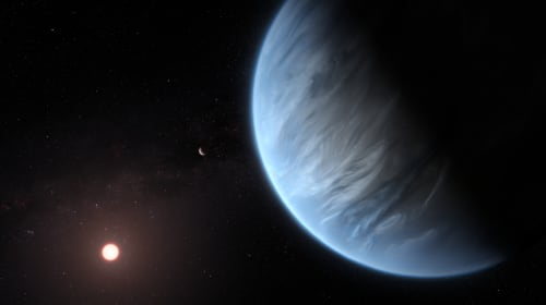 An Exoplanet with Water