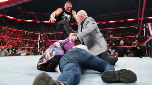5 Reasons Brock Lesnar Beating Up Rey Mysterio Wasn't as Great as You Think
