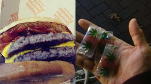 I Ate a Double Bacon Quarter Pounder with Cheese While on Edibles
