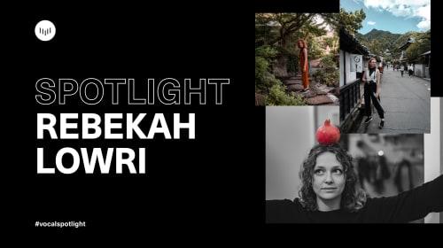Creator Spotlight: Rebekah B Lowri