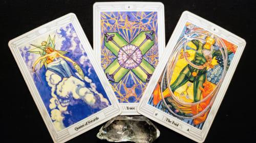 Mirror Dragon Tarot Part 8