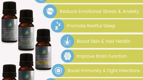 12 Stress Relieving Essential Oils to Boost Your Mood