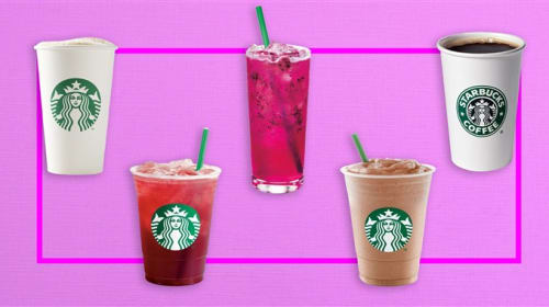 5 Starbucks Drinks