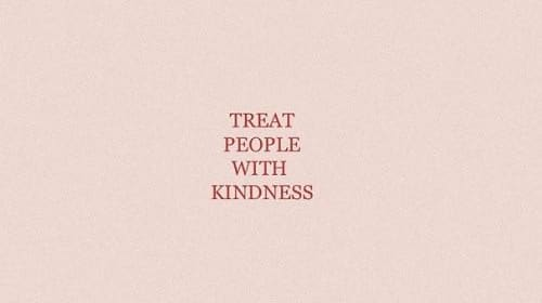 Treat Harry Styles with Kindness