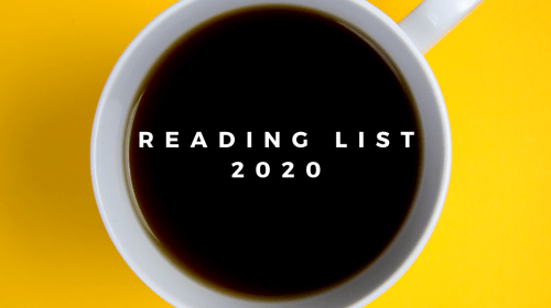 Do You Have a Reading List for 2020?