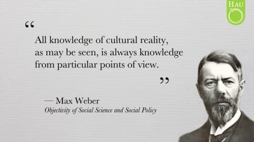 A Critique of Max Weber's 'Objectivity' in Social Science and Social Policy
