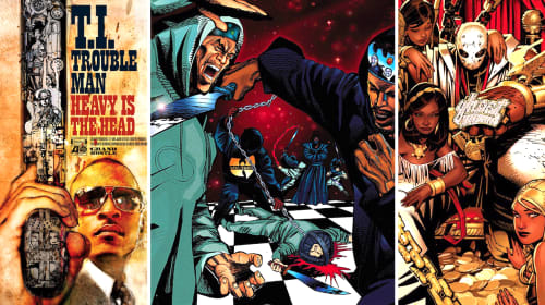 16 Times Comic Book Artists Absolutely Rocked Hip-Hop Album Cover Art