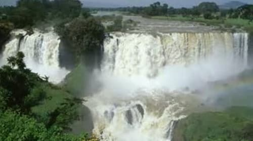 See the Beautiful Waterfalls Along the Nile River