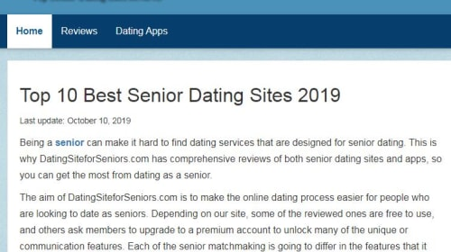 How to Choose the Right Dating Sites for Seniors