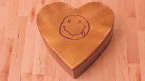 Heart-Shaped Coffin