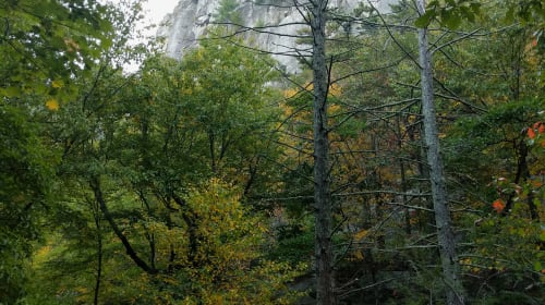 Climbing Seneca Rocks