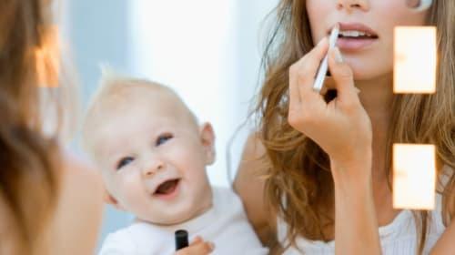 Beauty Hacks; 5 Minute Makeup Tutorial for Moms