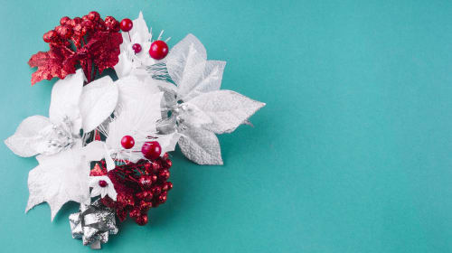 Christmas Flower Arrangements Tips for Beginners
