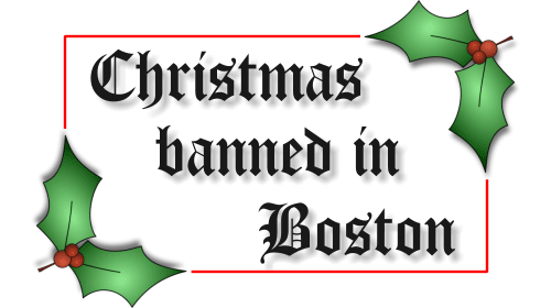 Christmas Once Banned in England and the United States