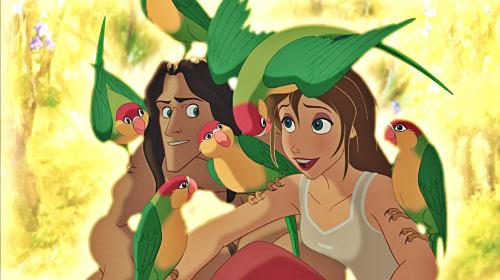 Why I love Tarzan and Jane (Disney's Tarzan franchise)