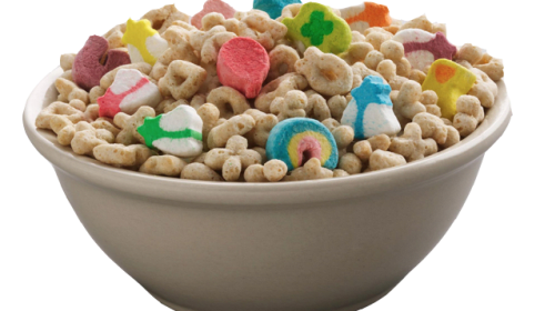 Lucky Charms & Chicken Gizzards