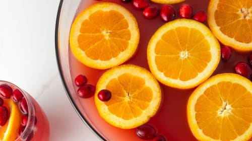 Skinny Blood Orange Cranberry Recipe