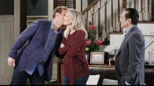 Sonny, Carly, Jax Triangle Is Heating up on 'General Hospital'