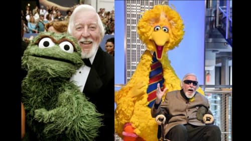 Big Bird Joins Mr. Hooper